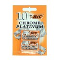 Hoja Bic Chrome Platinum 10 unidades