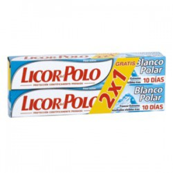 Dentífrico Licor del Polo Planco Polar 2x1