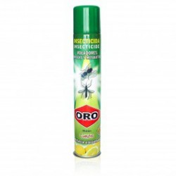 Insecticida Moscas y Mosquitos Limón Spray Oro