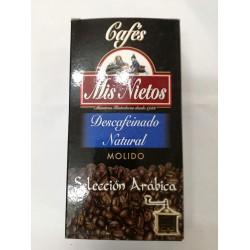 Café Molido Descafeinado Natural Mis Nietos