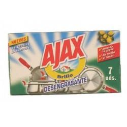 Estropajo Jabonoso Ajax 7 Ud.