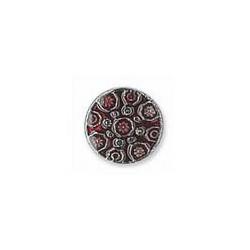 Botón Metal Granate