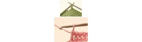 Agujas para Labores: Crochet y Tricotar